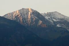 Montañas suizas en Thun fotos de archivo libres de regalías