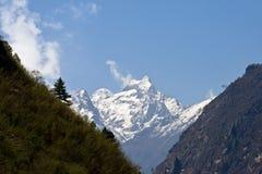 Montañas tibetanas Fotografía de archivo libre de regalías