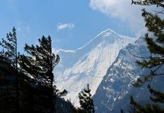 Montañas tibetanas Imagen de archivo libre de regalías