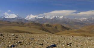 Montañas tibetanas fotos de archivo libres de regalías