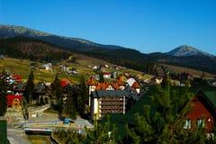 Montañas Ucrania Foto de archivo libre de regalías