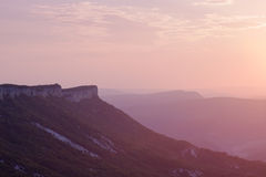 Montañas ucranianas Fotografía de archivo