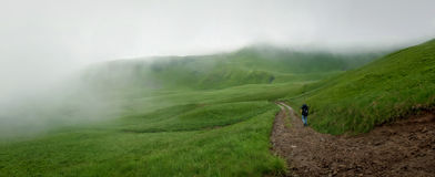 Montañas ucranianas Imagen de archivo