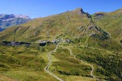 Montañas verdes imagen de archivo libre de regalías