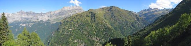 Montañas verdes Imagen de archivo
