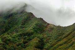 Montañas volcánicas de Oahu Imagen de archivo
