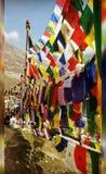 Montañas y cultura Imagenes de archivo