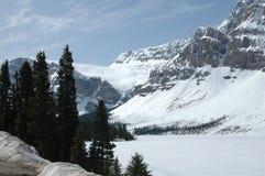 Montañas y glaciar americanos de NNorth Fotos de archivo