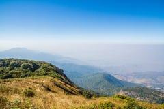 Montañas y horizonte Imagen de archivo libre de regalías