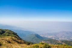 Montañas y horizonte Foto de archivo