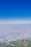Montañas y horizonte Fotos de archivo libres de regalías