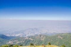 Montañas y horizonte Imagenes de archivo