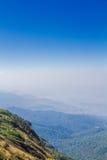 Montañas y horizonte Fotografía de archivo