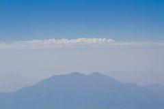 Montañas y horizonte Fotos de archivo