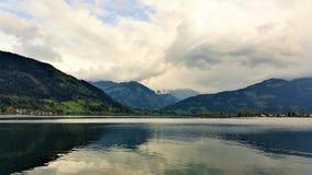 Montañas y lagos de Austria Imagen de archivo