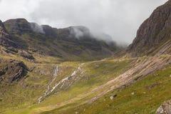 Montañas y llanos Imagen de archivo