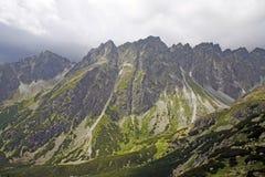 Montañas y naturaleza en Eslovaquia imagenes de archivo