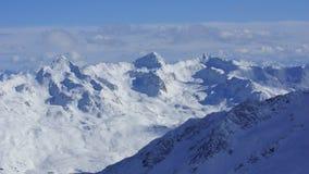 Montañas y picos hermosos de las montañas en Austria Fotografía de archivo