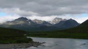 Montañas y río Imagen de archivo