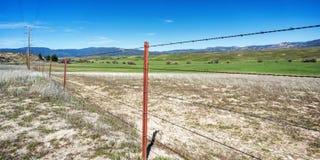 Montañas y Rolling Hills con la hierba verde Fotografía de archivo libre de regalías
