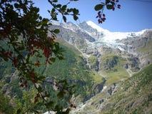 Montañas y valles Fotografía de archivo libre de regalías