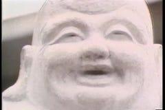 Montażu azjata statuy zdjęcie wideo