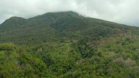 Monta?as cubiertas con la selva tropical, Filipinas, Camiguin metrajes