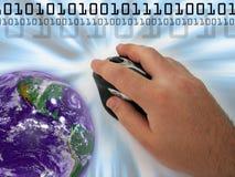 montaż internetu Obrazy Stock