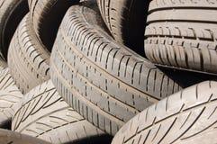 Monta pneus o fundo Foto de Stock