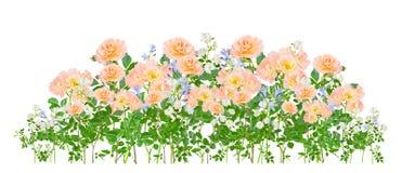Montażu przygotowania kwiaty Obrazy Royalty Free