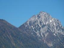 Montaña de Caraiman Fotografía de archivo libre de regalías