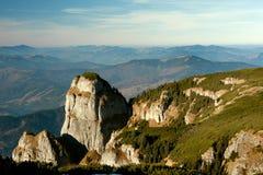 Montaña de Ceahlau, Rumania Fotografía de archivo