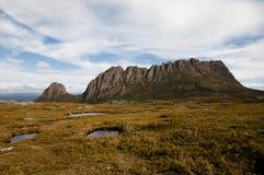 Montaña de la cuna - Tasmania Imágenes de archivo libres de regalías