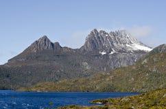 Montaña de la cuna. Tasmania, Australia. Imagen de archivo