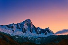 Montaña de Santa Cruz Trek Imágenes de archivo libres de regalías