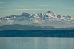 Montaña de Santis escénica Imágenes de archivo libres de regalías