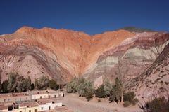 Montaña de siete colores Fotos de archivo