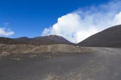 Montaña del Etna Fotografía de archivo libre de regalías