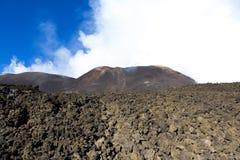 Montaña del Etna Fotos de archivo libres de regalías