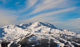 Montaña olímpica Foto de archivo libre de regalías
