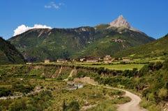 Montaña que sorbe de Raza Imagenes de archivo