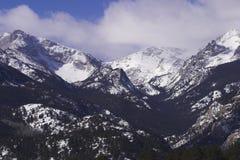 Montaña rocosa Vista Imagenes de archivo