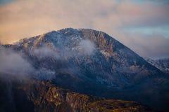 Montaña Snowdonia de Cadair Idris Imágenes de archivo libres de regalías