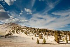 Montañas blancas Fotos de archivo