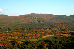 Montañas blancas de New Hampshire Imagen de archivo