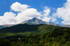 Montañas de Albania Fotografía de archivo