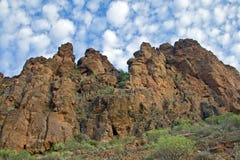 Montañas de Gran canario Imagen de archivo