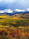 Montañas de la caída Imagenes de archivo