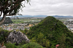 Montañas de mármol, Da Nang, Vietnam Fotos de archivo