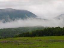 Montañas de Nueva Inglaterra norteña Imagen de archivo libre de regalías